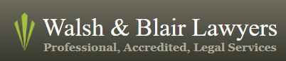 Walsh & Blair Lawyers
